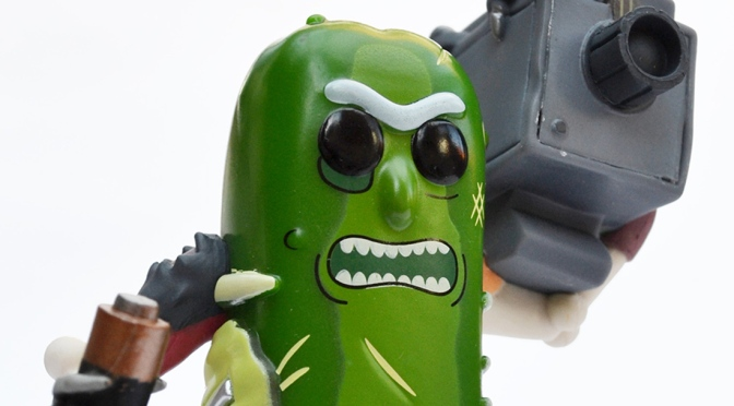 Funko Pop! Pickle Rick!