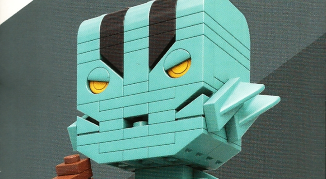 Abe Sapien Kit by Mega Construx