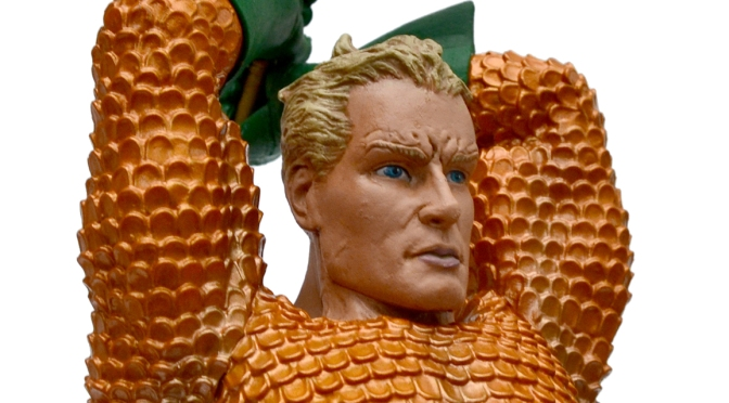REVIEWED: Aquaman statue by Diamond Select Toys