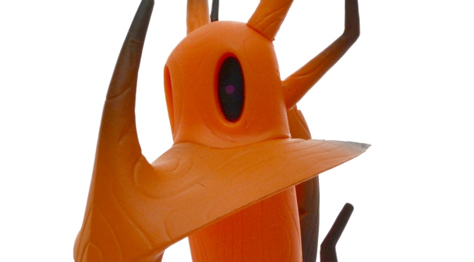 Nemesis Artifact vinyl toy from Unbox Industries